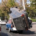 Transporter une voiture