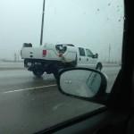 Un pickup à l'envers