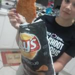 Dans un paquet de chips