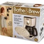 Du café sous la douche