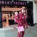 Iron man achète une culotte