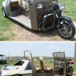 Moto voiture