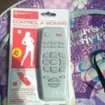 Télécommande à femme
