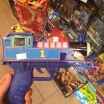 Train pistolet