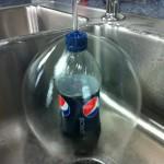 Une bulle d'eau