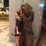 Chewbacca emballe