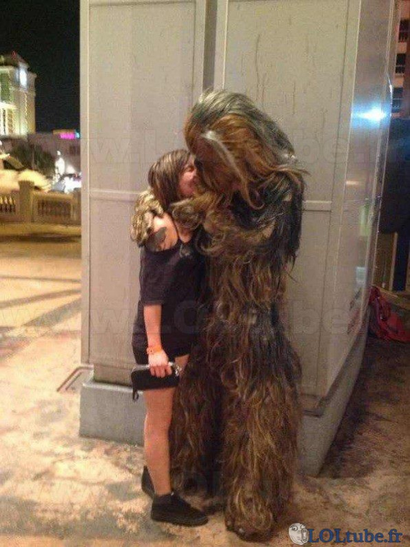 Chewbacca embale