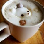 Nounours dans le café