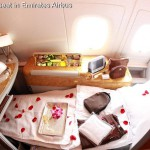 1ère classe d'avion de luxe