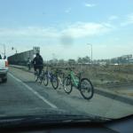 3 vélos en un