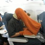 Du porn dans l'avion