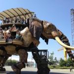 Géant éléphant automate