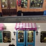 Habillage de métro