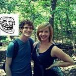 On a trouvé troll face