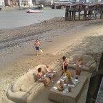 Salon en sable