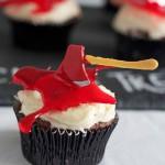 Cupcake à la hache