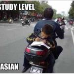 Etudier, toujours étudier