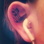 La musique sors des oreilles