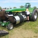 Méga tracteur