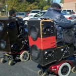 Fauteuil roulant musical