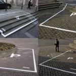 Places de parking pour jeep