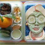 Un masque en légumes