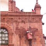Nettoyage de façade en toute sécurité