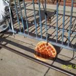 Antivol ... a pizza