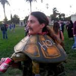 Cosplay de tortue