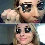 Des yeux de manga
