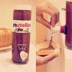 Distributeur de Nutella