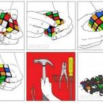 Résoudre un rubix cube en 6 secondes