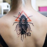 Tatouage creepy