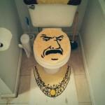 Toilettes pimpées