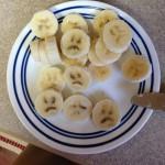 Banane pas contente