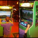 Borne d'arcade minecraft