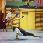Drôle de gymnastique
