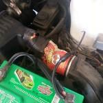 Réparation de voiture de fortune