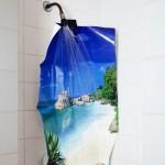 Une douche au paradis
