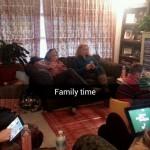Les moments de famille