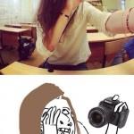 Non, ne me prend pas en photo !
