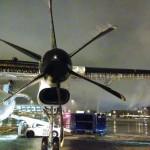 Un avion qui a gelé