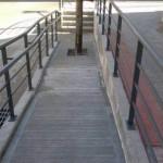 Sympa la rampe pour handicapé