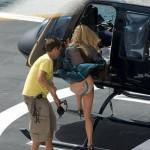 Un hélicoptère gentil