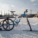 Vélo pour la neige