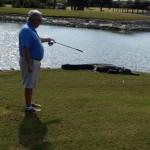 Y'a un intrus sur mon golf