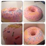 Donut d'anniversaire