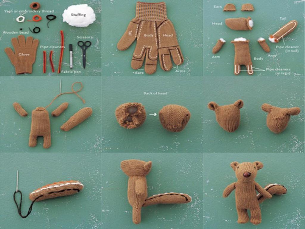 игрушки из носков и перчаток своими руками пошаговая инструкция - michaelcrichton.ru