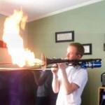 Instrument en feu