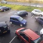 L'anarchie sur le parking